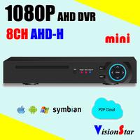 AHD-H Analog CCTV Video Recorder 1080P AHD DVR 8ch AHD-H
