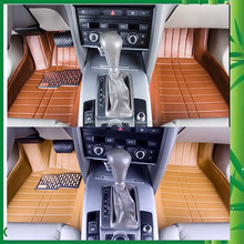 Black / Brown/ Beige/ Grey Colour Whole-floor-protecting Car Floor Mats