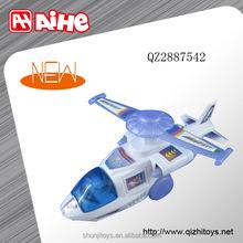 New design wooden pull plane pull line flying toys