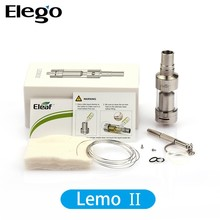 Eleaf Lemo 2 Rebuildable Atomizer 3.8 ml Huge Lemo 2 Lemo v2 Vs Subtank Mini Bell Cap