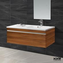 Cheap Modern Bathroom Cabinet with wash basin mirror