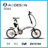 mini foldabe TZ161 wholesale electric bikes with aluminium alloy frame bafang motor pocket bike for sale