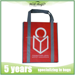 Hot sale non woven promotional bag, shopping bag, non woven bag