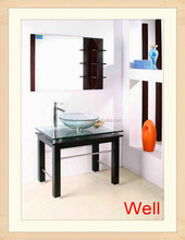 Solid wood suppliers of bathroom cabinets 634