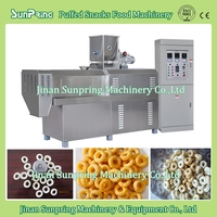 New type cheese ball machine, Snacks Food Extruding Equipment, flour puffing food machine with best price