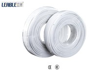 2.5mm industrial white PVC insulation/sheath copper conductor BVVB 300/500V wire