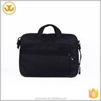 High quality black canvas handbag messenger bags laptop
