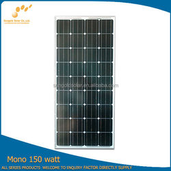 PV modules Solar panels Photovoltaic module 155W