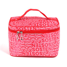 Fashion Letter Racking Pattern Wash Bag Cosmetic Bag Tote Bag