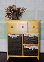 Six, solid wood drawer receive a case wholesale jewelry store content ark that occupy the home furnishing articles