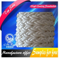 high strength acide resistance polyamide filament tow pulling string mooring rope