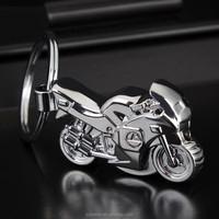 HOT high quality cheap custom metal made keychain/model motorcycle keychain