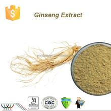 Natural free sample 10% ginsenosides HPLC ginseng root extract,80% ginsenosides UV ginseng extract,factory panax Ginseng extract