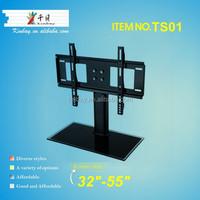 Cheap Glass Lcd Table Top TV Shelf Samsung Plasma Lcd Tv Table Design
