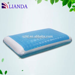 Breathable bamboo cover sleeping memory foam cooling gel pillow