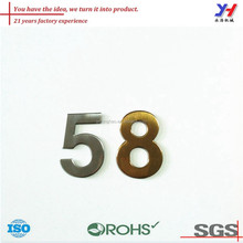 OEM ODM ISO certified customized metal letter