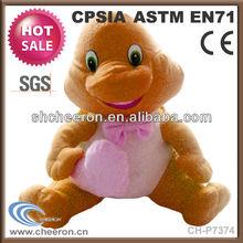Logo can be customised stuffed dinosaur plush toy