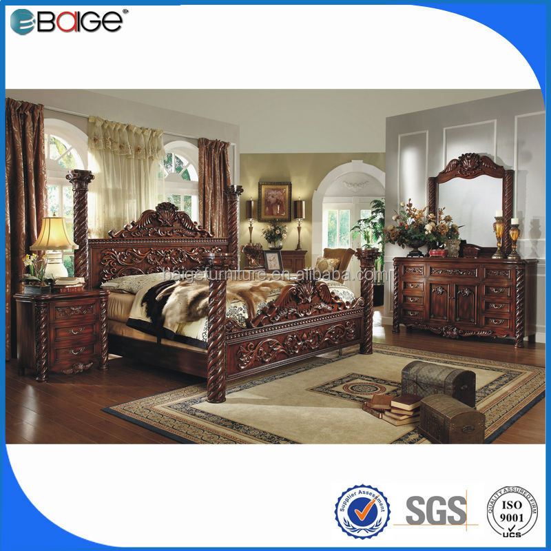 F 8008 2014 New Luxury Design Bedroom Furniture King Four
