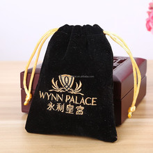 Luxury embroidery packing jewelry gem bag,jewelry storage bags Embroidery Logo