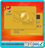 High Quality! Full Printing VIP Plastic PVC Gold Card cheap
