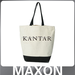 Cheap 250g trendy canvas bags tote Guangzhou