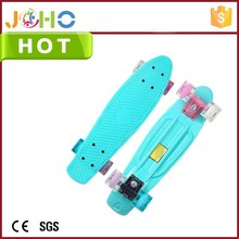 2015 Fun Toys Cheap Colorful two wheels skate board with PU Wheel for Kids and Adults for sale