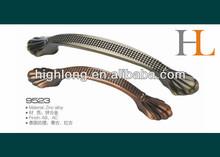 AB zinc cast furniture hardware pulls LY-9523