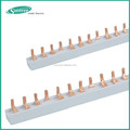 C45 mcb barramentos de cobre, disjuntor de barramentos, isolador barra