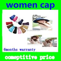 2014 fashionHot Women's Wide Large Brim Folding Summer Sun Floppy Hat Straw Beach Cap
