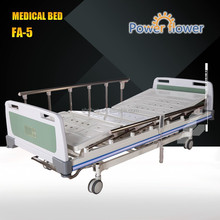 Manufactures with CE ISO FA-5 good quality 3 Functions Electric Hospital bed for patient