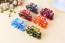 Pop Fashion Mini Hair Claw,Hair Accessories Fashion Hair Jewelry Factory,Kid's Plastic Hair Clip Claw Clamp and Jaws Wholesaler