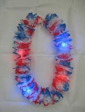 LED Silk Flower Leis