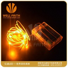 China factory mini LED events decorative copper wire string light,LED bright lights for festival decorative
