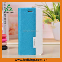double color leather mobile phone case for iphone5