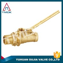 "cheap water tank float valve plastic ball plastic float valve for auto control dn25 1"""