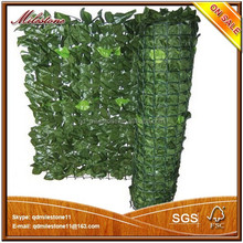 High quality artificial leaf fence for outdoor and garden landscape