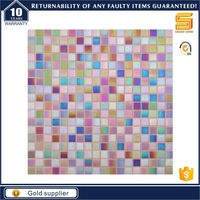 latest design glass mosaic pictures pattern