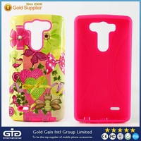 NP-2231 Water Printing Combo Case for LG G3 mini