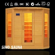 CE, 2012 new style (3-4 person sauna room )