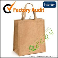 recycle promotional jute bag