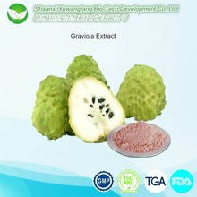 Anti cancer Ingredient Soursop Fruit Extract,Graviola Extract Powder