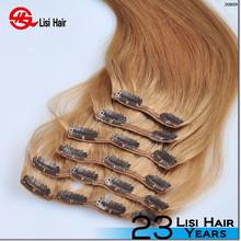 "long lasting 120g 160g 220g clip in hair virgin cuticle intact trade assurance 34"" virgin malaysian hair clip in"