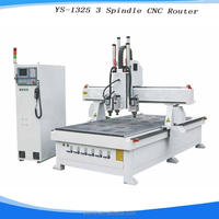 furniture acrylic engraving cnc router taiwan syntec cnc router with 6 knives 3 axis cnc wood router machine