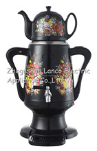 NK-S952 New Kettle Russia Samovar.SS BODY ceramic kettle.