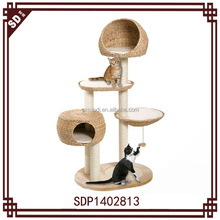SD 2015 hot sale banana leaf big cat tree