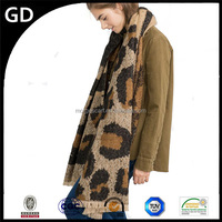 GDK0153 Thick winter blanket fringe custom pashmina scarf fashion women wear poncho