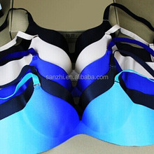 Teens Sexy Models Seamless Underwear Support Plunge Push Up Backless Bra 34 36 38 Cup B C