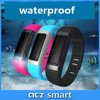 New product Sleep monitoring pedometer Smart Fitness Silicone Bluetooth Bracelet Android wristband mobile phone accessories