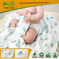 Hot Sales breathable baby swaddle wrap, muslin swaddle blanket fabric