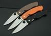 Three color Folding knives Tactical knives Pocket knives